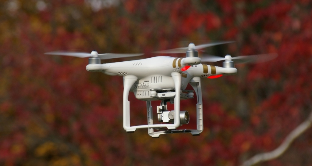 controle acces entreprise drone